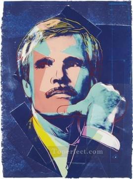 Artists Oil Painting - Ted Turner POP Artists