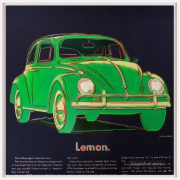 Pop Painting - Volkswagen green POP Artists