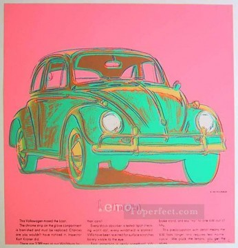 Pop Painting - Volkswagen pink POP Artists