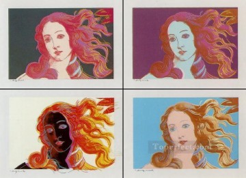 Botticelli Canvas - Venere Dopo Botticelli POP Artists