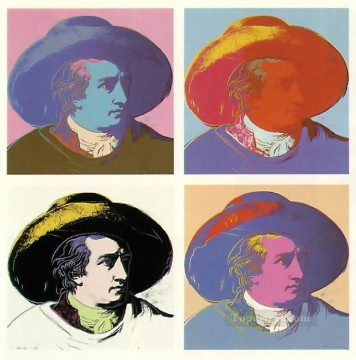 Goethe POP Artists Oil Paintings