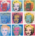 Marilyn Monroe List POP Artists