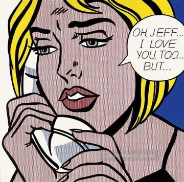 oh jeff i love you but POP Artists Oil Paintings