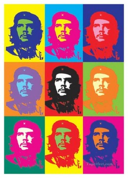 Pop Painting - Che Guevara POP Artists