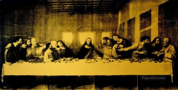 last supper Painting - Last Supper classical POP Artists