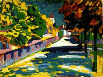 Purely Abstract Painting - Autumn in Bavaria Wassily Kandinsky Abstract