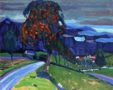 Autumn in Murnau Abstract Oil Paintings