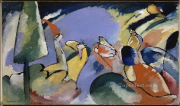 Purely Abstract Painting - improvisation xiv 1910 Abstract