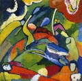 Two riders and reclining figure Abstract