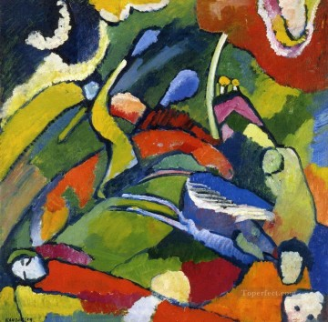 Purely Abstract Painting - Two riders and reclining figure Abstract