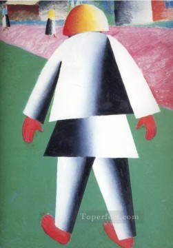 Artworks in 150 Subjects Painting - boy 1932 Kazimir Malevich abstract