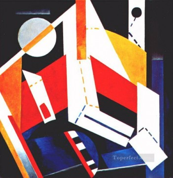 construction 1923 Alexandra Exter abstract Oil Paintings