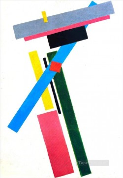 Artworks in 150 Subjects Painting - suprematistic construction 1915 Kazimir Malevich abstract