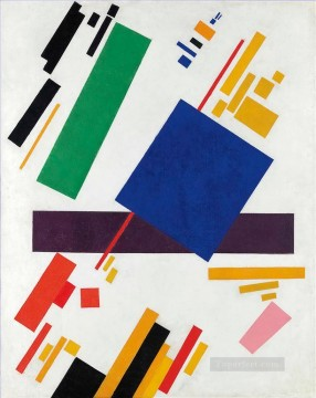 Purely Abstract Painting - Suprematist Composition Kazimir Malevich abstract