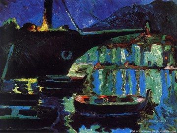 Surrealist Works - Port of Cadaques Night Surrealist