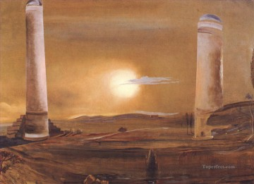 Surrealism Painting - The Towers Surrealist