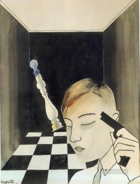 checkmate 1926 Surrealist Oil Paintings