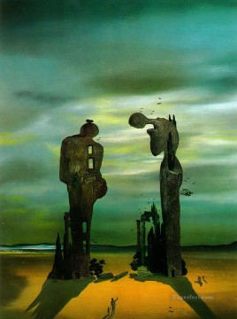 Archeological Reminiscence Millet s Angelus Surrealist Oil Paintings