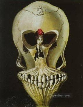 Ballerina in a Death s Head Surrealist