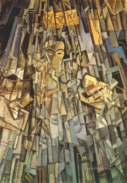 Cubist Self portrait Surrealist Oil Paintings