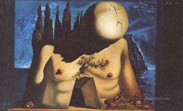 Surrealism Painting - Design for Set Curtain for Labyrinth I Surrealist