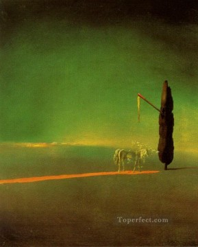 Surrealism Painting - Eclipse and Vegetable Osmosis Surrealist
