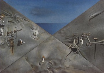 Surrealism Painting - Hyperxiological Sky Surrealist