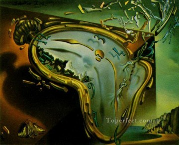 Surrealism Painting - Melting Watch Surrealist