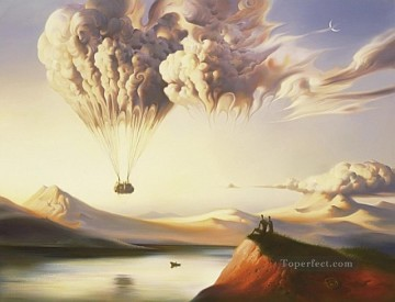 Metamorphosis II surrealism Oil Paintings