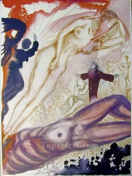 Abstract and Decorative Painting - Mulier e latere viri Surrealist