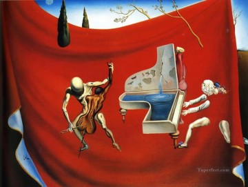 Surrealism Painting - Music The Red Orchestra Surrealist