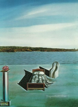 Surrealism Painting - Surrealist Composition with Invisible Figures Surrealist