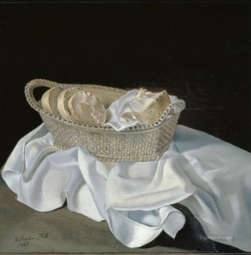 The Basket of Bread Surrealist Oil Paintings