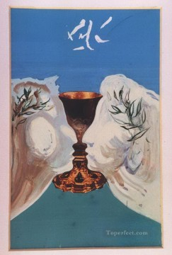Surrealism Painting - The Gold Chalice Surrealist