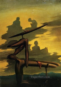 Surrealist Works - The Spectre of the Angelus Surrealist
