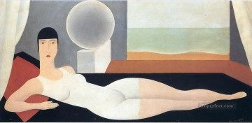realism realist Painting - bather 1925 Surrealist