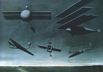 black flag 1937 Surrealist Oil Paintings