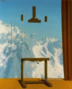call of peaks 1943 Surrealist Oil Paintings