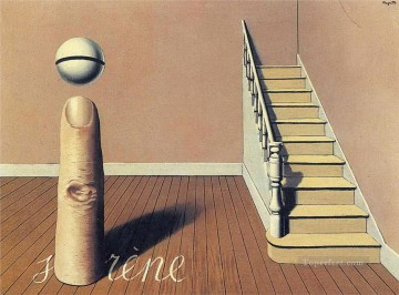 Surrealism Painting - forbidden literature the use of the word 1936 Surrealist