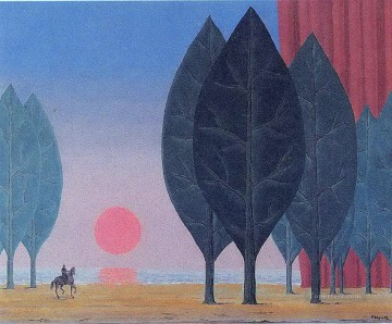 1963 Painting - forest of paimpont 1963 Surrealist