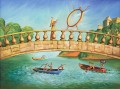 modern contemporary 13 surrealism rowing