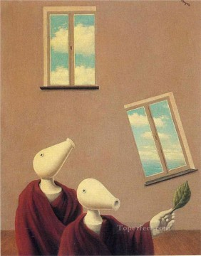natural encounters 1945 Surrealist Oil Paintings