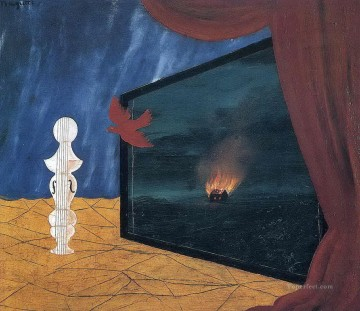 Surrealism Painting - nocturne 1925 Surrealist