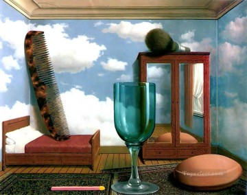Surrealism Painting - personal values 1952 Surrealist