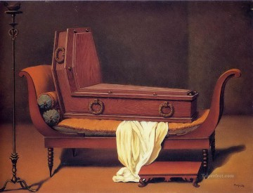 Surrealism Painting - perspective madame recamier by david 1949 Surrealist