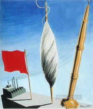 project of poster the center of textile workers in belgium 1938 2 Surrealist Oil Paintings