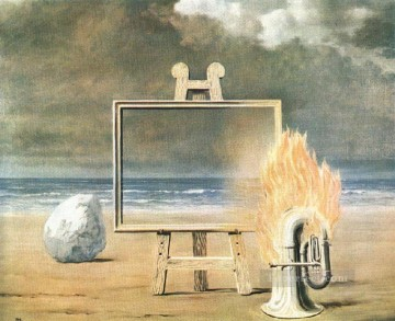 the fair captive 1947 Surrealist Oil Paintings