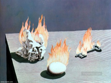 the ladder of fire 1939 Surrealist Oil Paintings