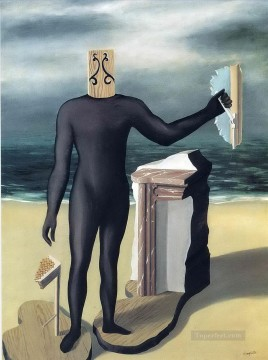 the man of the sea 1927 Surrealist Oil Paintings