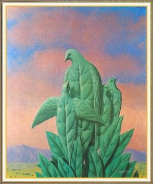 the natural graces 1963 Surrealist Oil Paintings